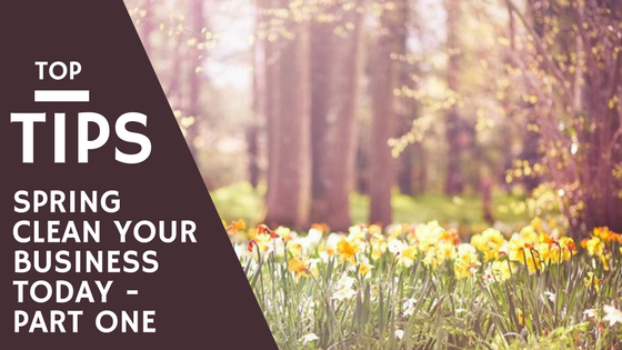 Spring clean your business with RedRite Business support Services