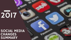 Social Media Summary 2017, Marketing, Social Media