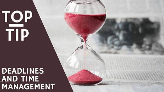 Time Management, Deadlines, Business, RedRite