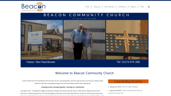 Community Church Website