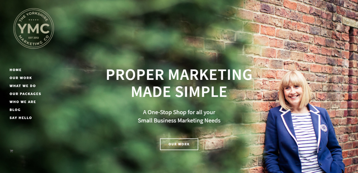 The Yorkshire Marketing Company Website Build