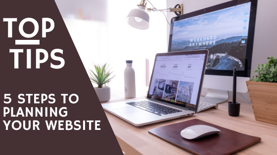 5 steps to launching your website